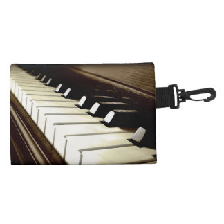 PIANO KEYS Music-Lover's Keyboard design Accessory Bag