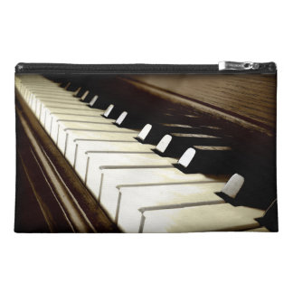 PIANO KEYS Music-Lover's Keyboard design Travel Accessory Bag