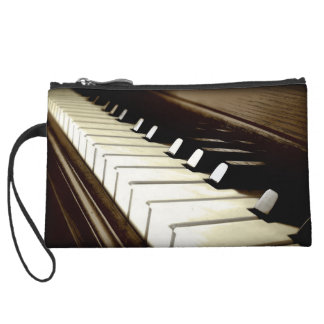 PIANO KEYS Music-Lover's Keyboard design Wristlet