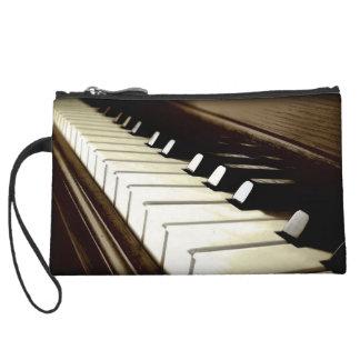 PIANO KEYS Music-Lover's Keyboard design Wristlets