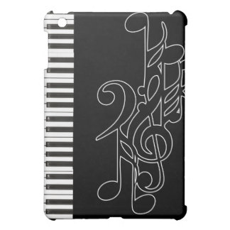 Piano Keys Music Notes Fitted Case for Apple iPad iPad Mini Cover