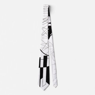 Piano Keys Neck Tie
