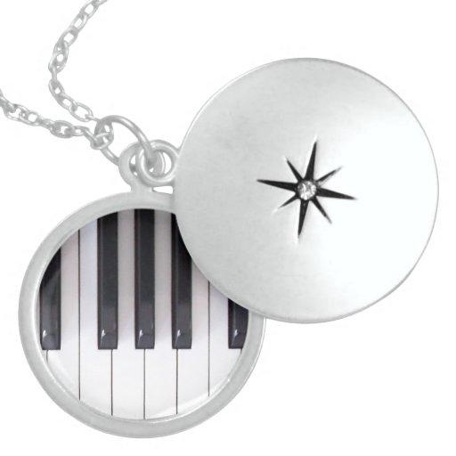 Piano Keys Necklace
