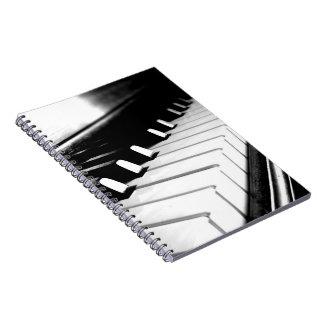 Piano Keys Notebook
