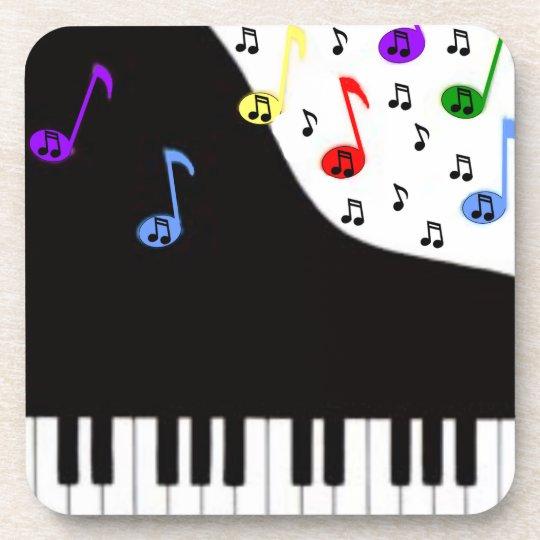 Piano Keys & Notes Coaster