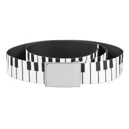 Piano Keys Novelty Belt