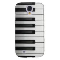 piano keys Pern 3 casing Samsung S4 Case