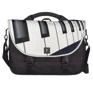 Piano Keys Perspective Commuter Bags