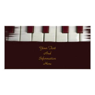 Piano Keys Photo Card