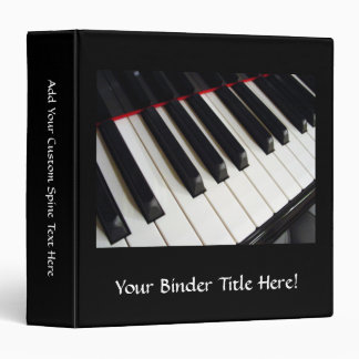 Piano Keys Photograph Binder