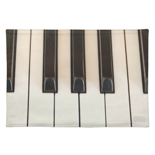 Piano Keys Placemat