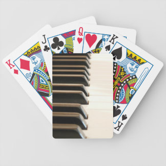 Piano Keys Bicycle Poker Deck