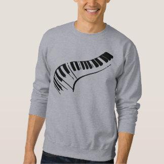 Piano Keys Pullover Sweatshirt