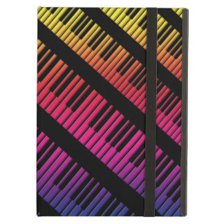 Piano Keys Rainbow Of Color Case For iPad Air