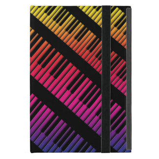 Piano Keys Rainbow Of Color Covers For iPad Mini