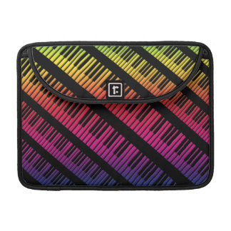 Piano Keys Rainbow Of Color Sleeve For MacBook Pro