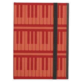 Piano Keys Red Pattern iPad Air Covers
