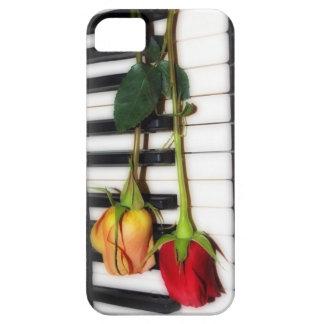 Piano keys  rose iPhone case