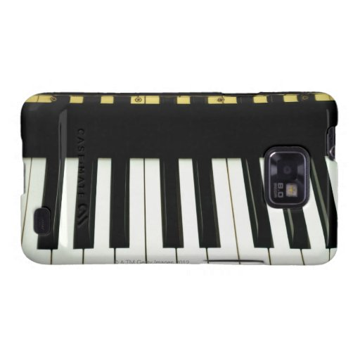 Piano Keys Samsung Galaxy SII Case