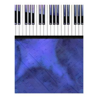 Piano Keys Sheet Music Modern Twist