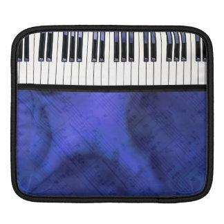 Piano Keys Sheet Music Modern Twist iPad Sleeve
