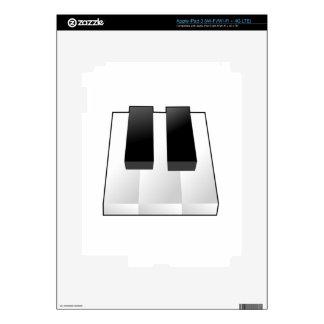 Piano Keys Skins For iPad 3