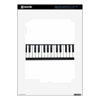 Piano Keys iPad 3 Decals