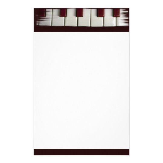 Piano Keys Stationery