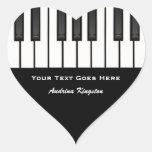 Piano Keys Stickers