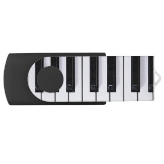 Piano Keys Swivel USB 2.0 Flash Drive