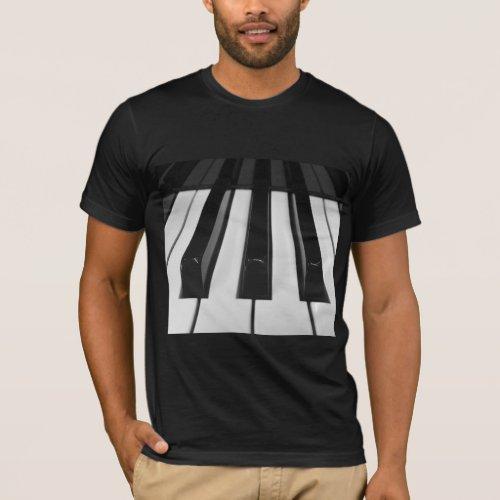 Piano Keys T_Shirt
