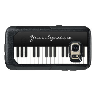 Piano Keys with Signature OtterBox Samsung Galaxy S7 Case