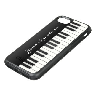 Piano Keys with Signature OtterBox Symmetry iPhone 7 Case