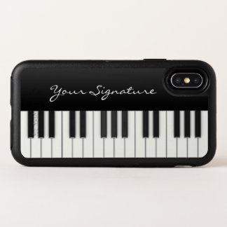 Piano Keys with Signature OtterBox Symmetry iPhone X Case