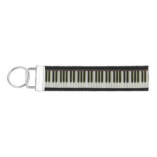 Piano Keys Wrist Keychain