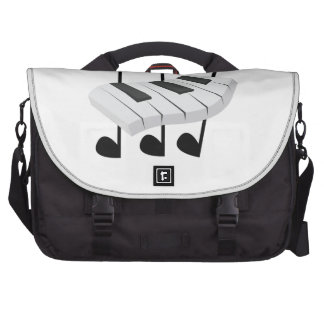 Piano Laptop Messenger Bag