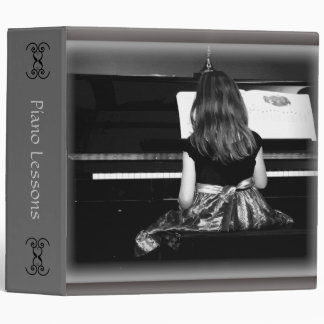 Piano Lesson or Music Sheets Book Binder