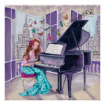 Piano Love Music - Poster