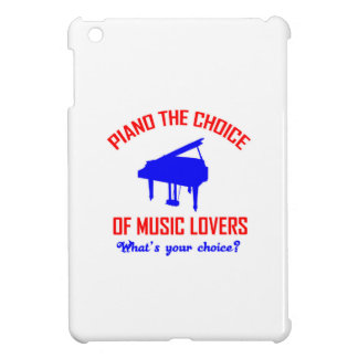 Piano lovers design iPad mini cover
