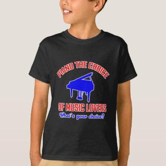 Piano lovers design T-Shirt