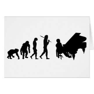 Piano lovers gifts for Pianists - Bach Mozart Greeting Cards