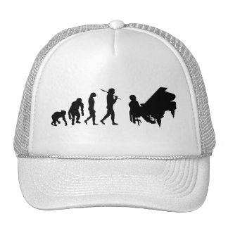 Piano lovers gifts for Pianists - Bach Mozart Trucker Hat
