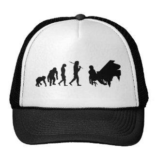 Piano lovers gifts for Pianists - Bach Mozart Mesh Hat