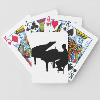 Piano Man Baraja Cartas De Poker