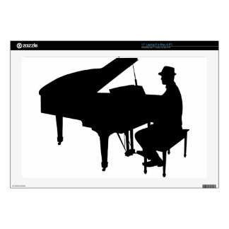 Piano Man Decals For Laptops