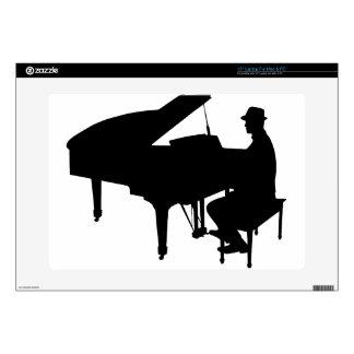 Piano Man Laptop Skin