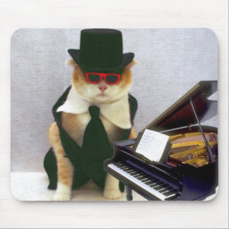 Piano Man Mouse Pads