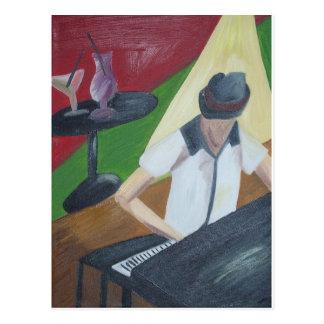 Piano Man Postales