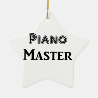 Piano Master Ceramic Ornament