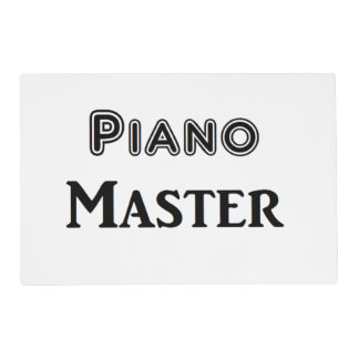 Piano Master Placemat